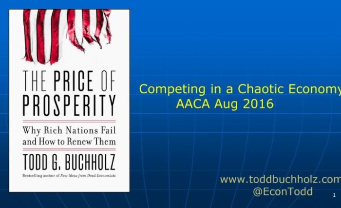 2016 competing in a chaotic economy