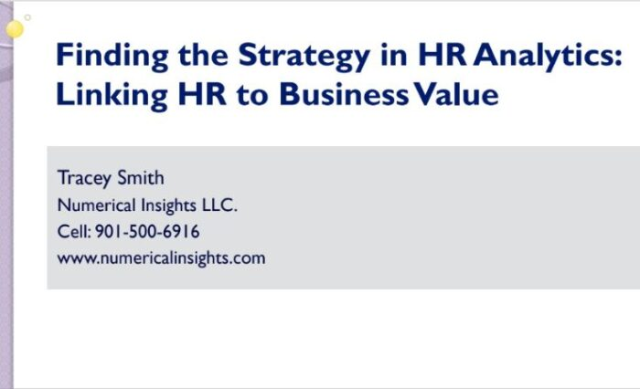 2016 linking hr to business value