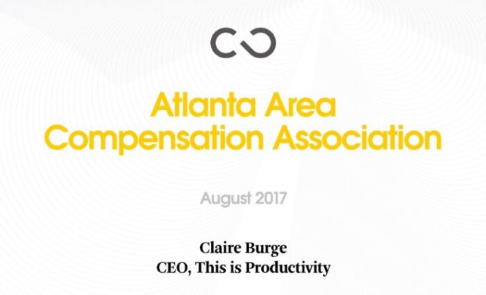 2017 rethinking total compensation in a chaotic future