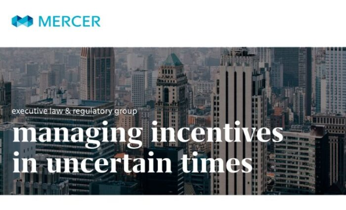 managing incentives in uncertain times