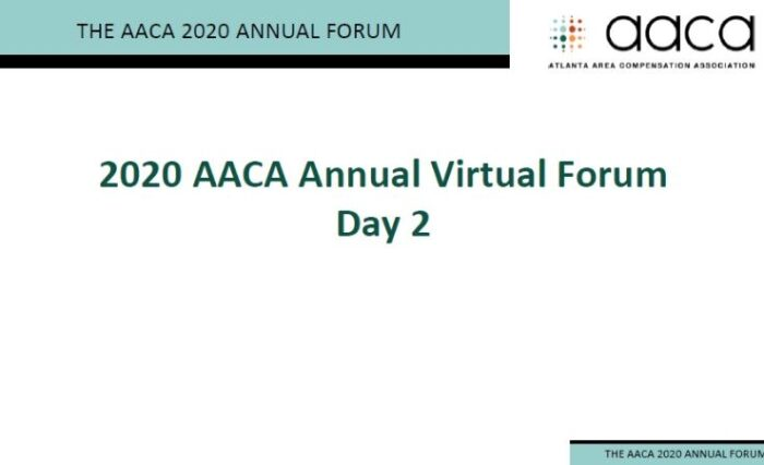 AACA Forum Session 2